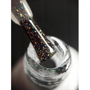 Топ для гель-лака FOR YOU Shimmer Gold (без липкого слоя), 10мл