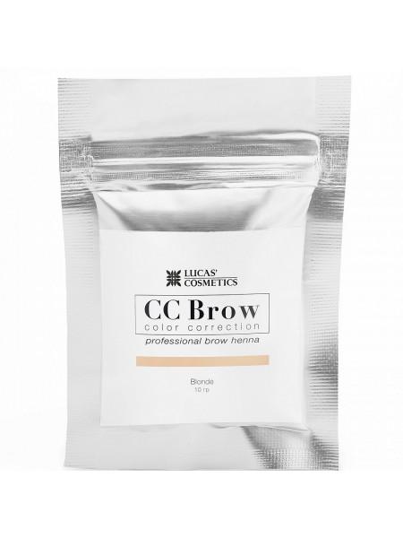 Хна для бровей CC Brow (blonde) в саше (русый), 5 гр