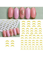 3D наклейки для дизайна ногтей №657