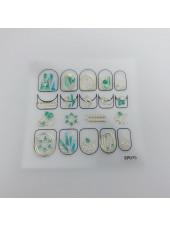 3D наклейки для дизайна ногтей №75