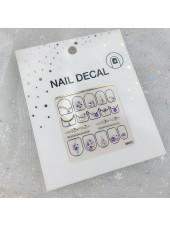 3D наклейки для дизайна ногтей №79