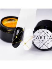 Гель-Паутинка (Spider Gel) для дизайна ногтей Art-A №5 Золото